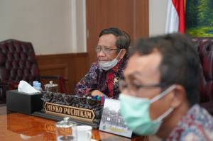 Indeks Persepsi Korupsi Turun, Mahfud MD Minta Masukan TII