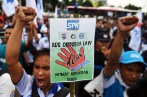 Tolak 4 PP Turunan UU Cipta Kerja, Buruh Bakal Demo Lagi