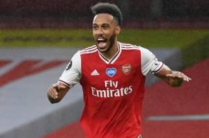 Susunan Pemain Arsenal vs Benfica: Auba Starter, Lacazette Cadangan