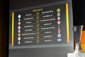 Hasil Pengundian Babak 16 Besar Liga Europa MU Tantang Milan