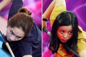 Turnamen Biliar Hot Nine: Angeline Ticoalu dari Jateng akan berhadapan dengan Putrini Sianturi dari Banten