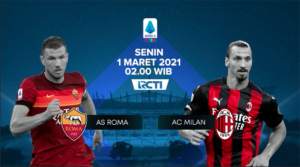 Live Streaming RCTI Plus: AS Roma vs AC Milan
