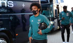 Susunan Pemain Leicester City vs Arsenal: Willian Starter, Aubameyang Cadangan