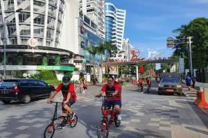 Kader PDIP Merahkan GBK, Utut: Gowes Sepeda Lebih Dekat dengan Rakyat