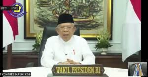 KH Maruf Amin Minta Alumni UKI Bangun Negara dan Rawat Kebinekaan