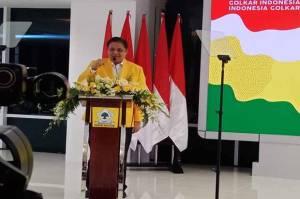 Tutup Pidato Politik, Ketum Golkar Airlangga Hartarto Bacakan 2 Pantun