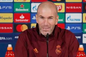 Zidane Tegaskan Tak Ada Favorit di Laga Derby Madrid