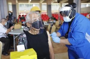 Purnawirawan Jenderal TNI AD Mulai Endriartono Hingga Hendropriyono Disuntik Vaksin