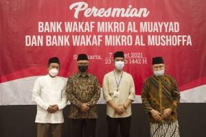 Diresmikan Gibran, OJK Buka Bank Wakaf di Pesantren Al-Muayyad Mangkuyudan Solo