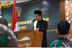 50 Prajurit TNI AD Kembali Ikuti Program Penguatan Pondasi Keimanan