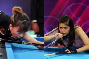 Turnamen Biliar Hot Nine: Libas Silviana Lu, Echa Sudarto Melajuke Semifinal