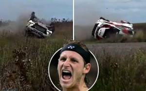 Nahas! David Nalbandian Kecelakaan saat Reli Mobil Mengerikan