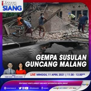 Waspada, Gempa Susulan Guncang Malang! Cek di iNews Siang Pukul 11.00 WIB Ini