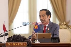 Bertemu Kanselir Jerman, Jokowi Klaim Kasus Corona Turun Berkat Mini Lockdown