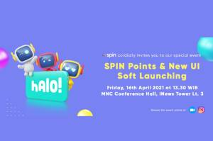 SPIN Points & New UI/UX Soft Launching: SPIN Points, Fitur Reward yang Manjakan Konsumen SPIN