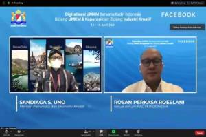 Kadin dan Facebook Gelar Pelatihan Digitalisasi UKM