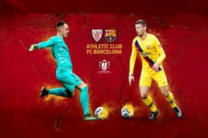 Preview Athletic Bilbao vs Barcelona: Duel Seimbang di Final Copa del Rey 2021