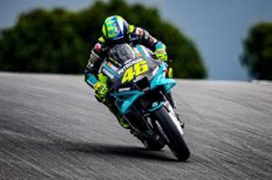 Kecepatan Tidak Istimewa, Rossi Pasrah Start dari Belakang MotoGP Portugal