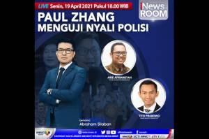 Paul Zhang Menguji Nyali Polisi, Selengkapnya di iNews Room Senin Pukul 18.00 WIB