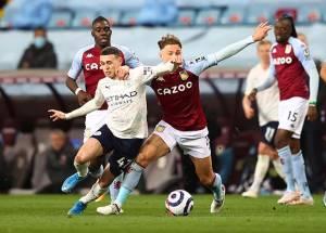 Dua Kartu Merah Warnai Kemenangan Manchester City atas Aston Villa