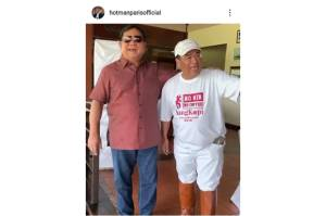 Berkelakar dengan Prabowo, Hotman Paris: Thank You Bos