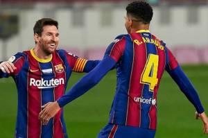 Bisikan Messi Disambut Araujo