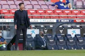 Simeone: Saya Tidak akan Menonton Real Madrid