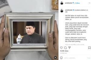 Rayakan Idul Fitri dalam Kewaspadaan, Erick Thohir: Sabar Ya!