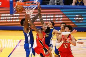 Hasil Pertandingan NBA, Sabtu (15/5/2021) Warriors Dibikin Repot Pelicans