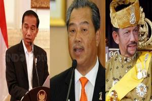 Pernyataan Bersama Presiden Jokowi, PM Malaysia, dan Sultan Brunei Kutuk Keras Agresi Israel ke Palestina