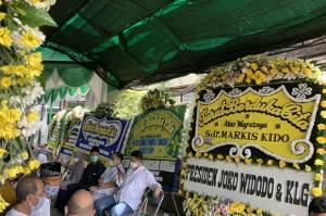 Rumah Duka Markis Kido Banjir Karangan Bunga, Ada dari Presiden Joko Widodo