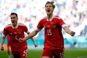 Hasil Piala Eropa 2020: Rusia Menang Tipis Lawan Finlandia