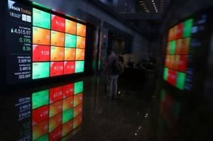 IHSG Anjlok Efek Kepanikan Investor Atas Lonjakan Covid-19