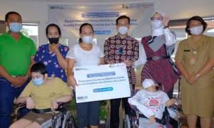 Dukung Korban Kecelakaan dan Kaum Disabilitas, Jasa Raharja Berikan Alat Bantu Mobilitas