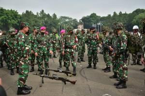 Wakasal Inspeksi Kesiapan Tempur Marinir Jelang Latihan Armada Jaya 2021