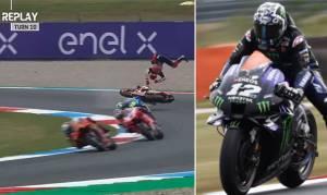 Marquez Kecelakaan, Vinales Kuasai Latihan Bebas Kedua MotoGP Belanda 2021