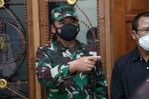 Panglima TNI Tinjau Langsung Kesiapan Tempat Isolasi Terpusat di Bantul Yogyakarta
