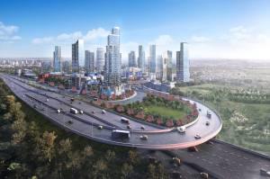 Sebuah Kelopak Senilai Rp20 Triliun Bakal Dibangun di Sebelah Barat Jakarta