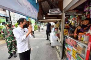 Tagar Dukungan ke Jokowi dalam Penanganan Covid-19 Trending di Medsos