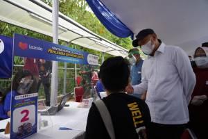 Kolaborasi Program Vaksinasi Covid-19 Pelaku UMKM Terus Didorong