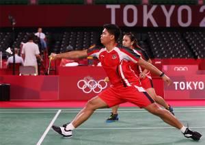 Drawing Perempat Final Ganda Campuran Cabang Bulu Tangkis Olimpiade Tokyo 2020