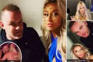Skandal Wayne Rooney di Kamar Hotel dengan 3 Gadis Semi Telanjang
