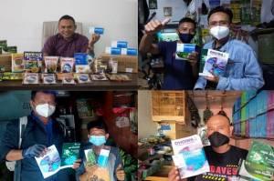Phoenix Donasikan Suplemen Herbal Halal kepada Pedagang Pakan Burung