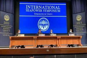 Bahas Dampak Perubahan Iklim Terhadap Keamanan, Wakasal Hadiri Forum Pimpinan AL Dunia