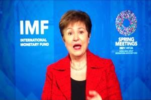 Bos IMF Georgieva Sangkal Beri Tekanan Pro-China pada Laporan Bank Dunia