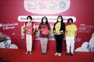 Wujudkan Dukungan pada UMKM, PT Sasa Inti Sediakan 1.000 Porsi Sasa Nasi Goreng Sambal Matah
