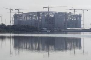 Rumput Berstandar Internasional Siap Ditanam di Jakarta International Stadium