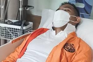 Absen vs Persipura, Kapten Persija Terbaring di Rumah Sakit