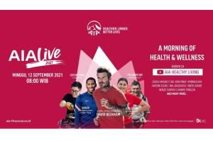 AIA Live 2021 Hadir Kembali untuk Dukung Masyarakat Jaga Kesehatan Mental