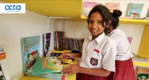 Happy Hearts Fund Bangun Perpustakaan Sekolah Baru bagi Warga NTT